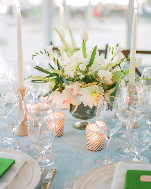 shelby barrett wedding centerpiece