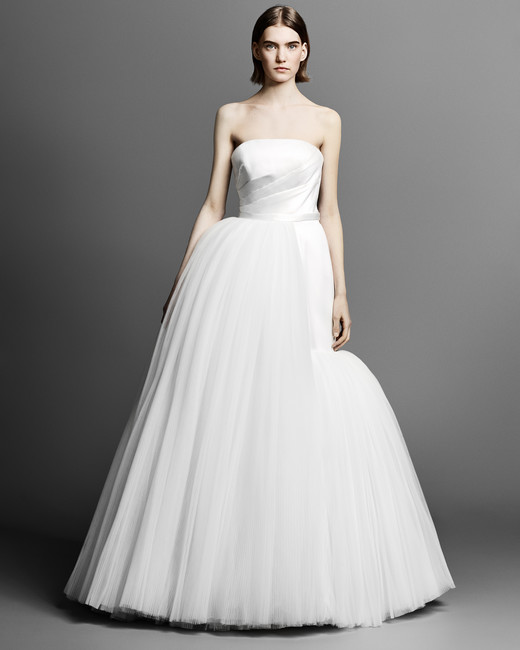strapless viktor rolf ball gown wedding dress spring 2019