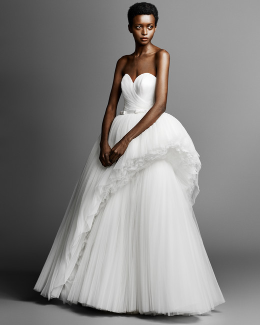 viktor rolf ball gown wedding dress spring 2019
