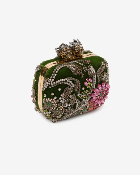 "Alexander McQueen ""Queen and King"" Clutch"