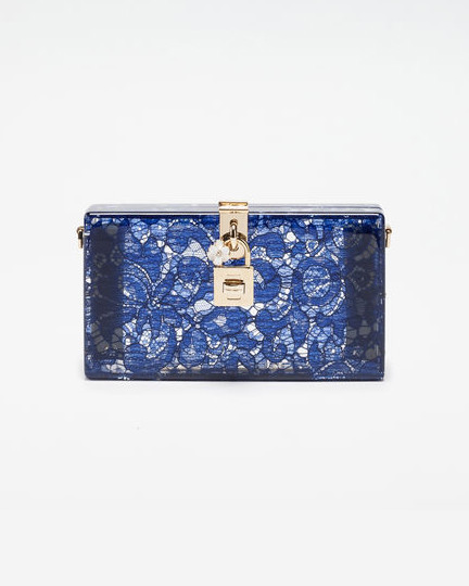 """Dolce & Gabbana """"Dolce Box"""" Clutch"""