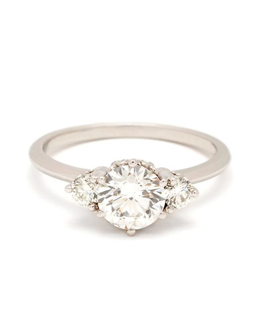 "Anna Sheffield ""Hazeline"" Three-Stone Ring"