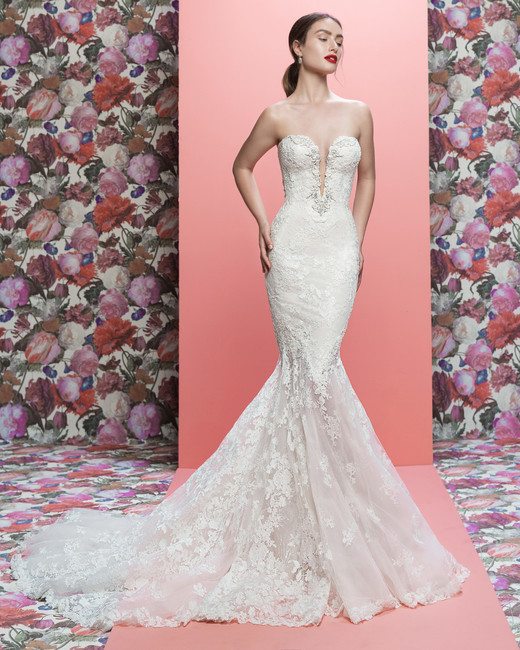 Galia Lahav wedding dress spring 2019 strapless sweetheart mermaid