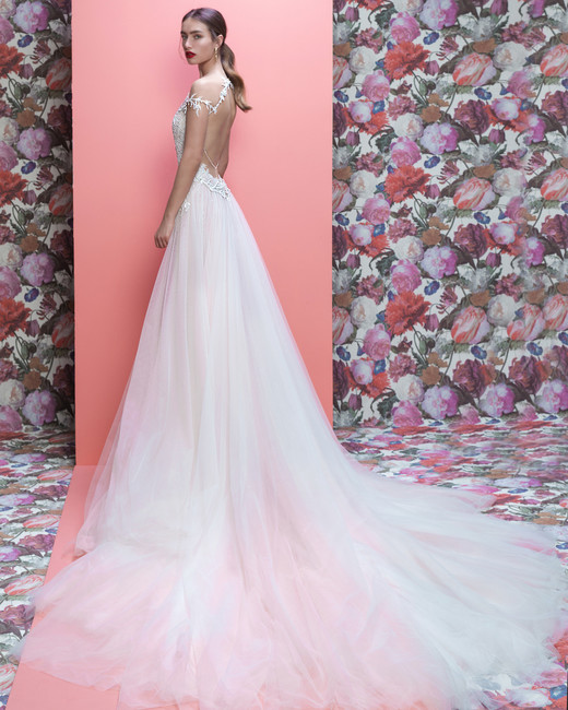 Galia Lahav wedding dress spring 2019 off-the-shoulder a-line