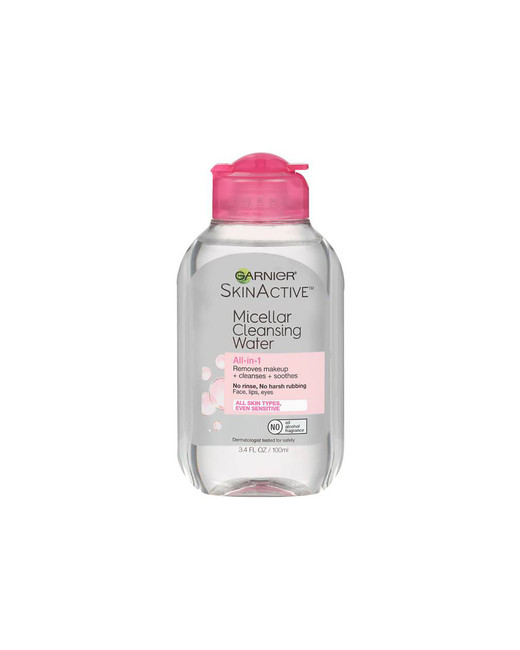 beach beauty garnier micellar water