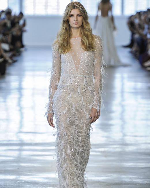 Berta Long Sleeves Wedding Dress Fall 2018