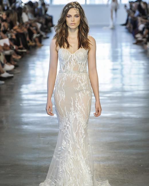 Berta Sweetheart Mermaid Wedding Dress Fall 2018