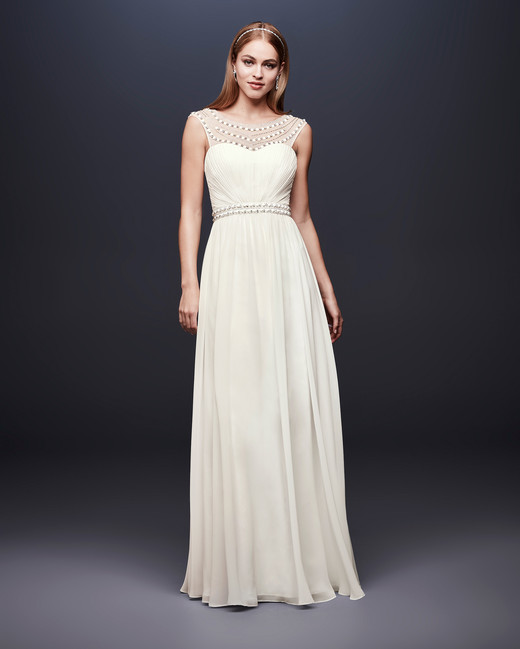 david bridal wedding dress spring 2019 sleeveless sweatheart a-line