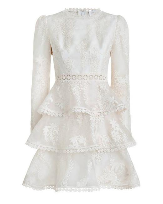 "zimmermann ""maples"" tier dress"