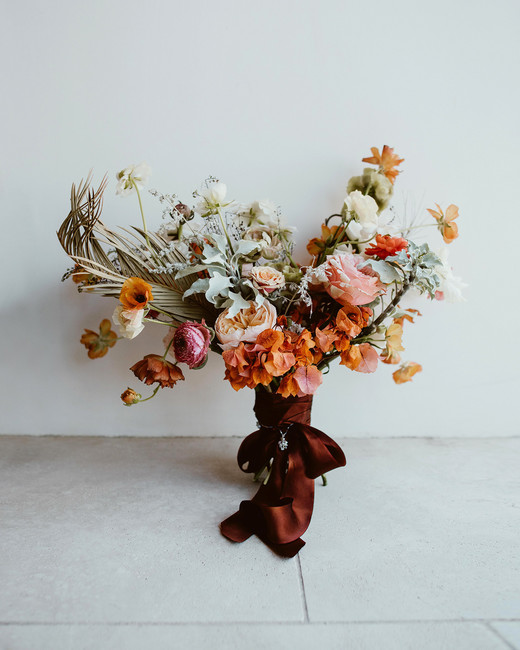 lisa sam mexico wedding bouquet