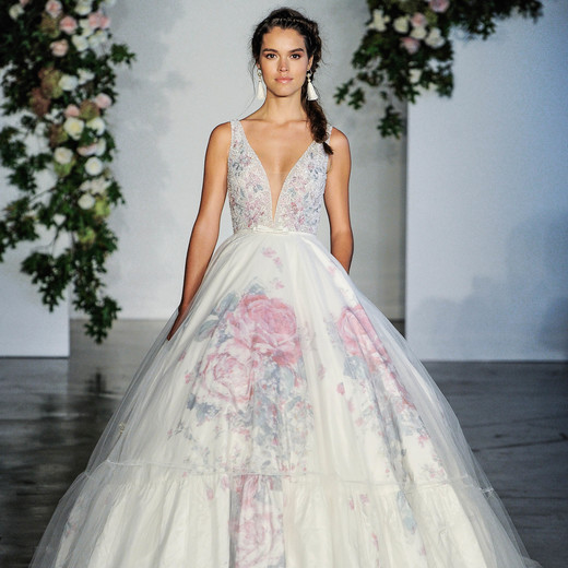 Morilee V-Neck A-Frame Wedding Dress Fall 2018