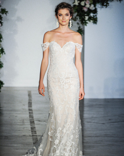Morilee Off-the-Shoulder Sweetheart Wedding Dress Fall 2018