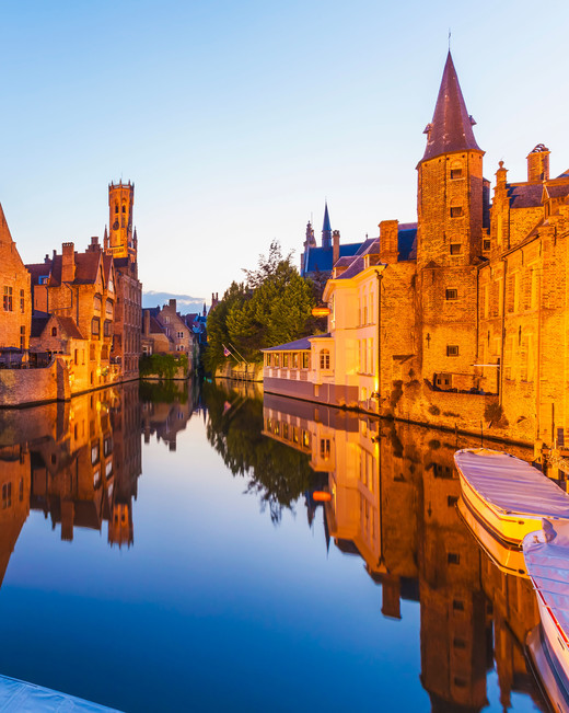 romantic destination bruges belgium