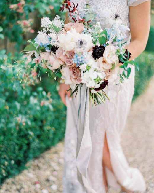various colored floral arrangement and greenery
