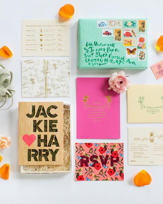 wedding invitation boxes love me do