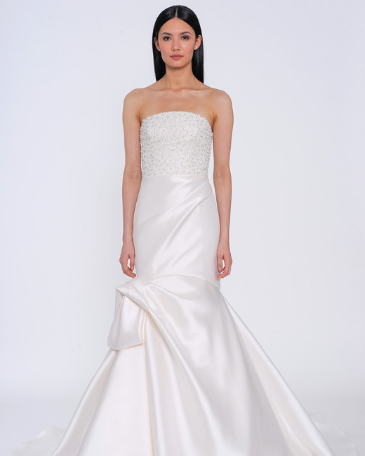 allison webb wedding dress spring 2019 satin strapless