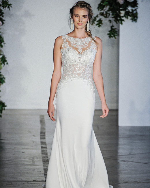 Morilee Trumpet Wedding Dress Fall 2018