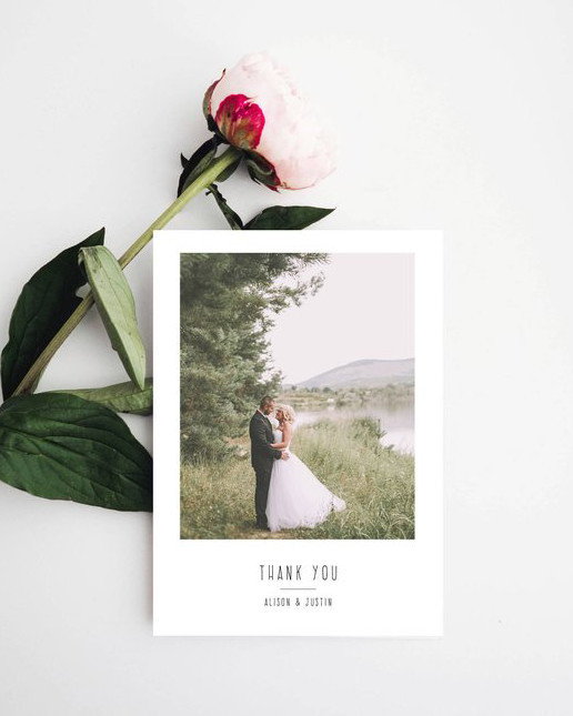 thank you notes etsy blanche paperie