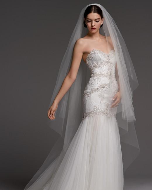 watters wedding dress fall 2018 sweetheart mermaid strapless