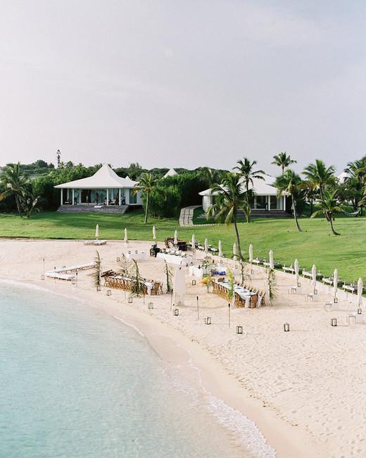 beach wedding site resort