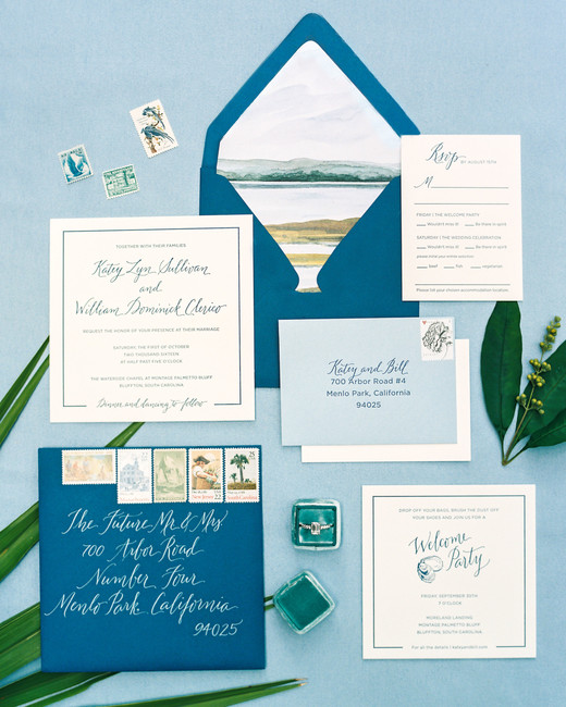 beach wedding invitations coastal creation