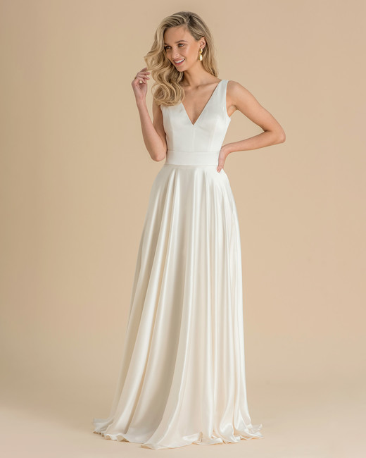 catherine deane wedding dress spring 2019 classic v-neck a-line