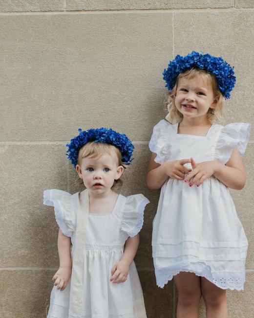 madison kyle wedding flowergirls