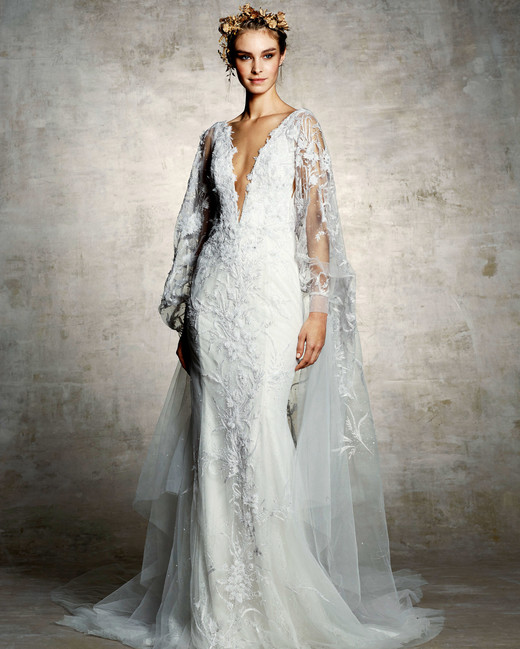 Marchesa Spring 2019 Wedding Dress Collection Martha Stewart Weddings