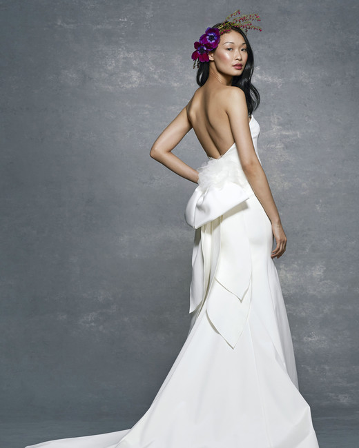 marchesa notte bridal wedding dress backless a-line