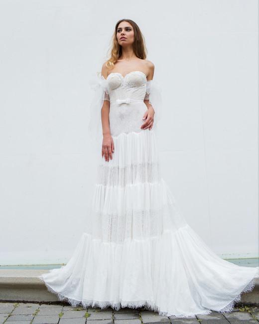 sheath sweetheart wedding dresses