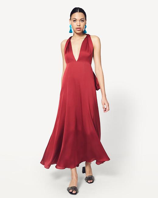 The Coolest Silk Bridesmaids Dresses Martha Stewart Weddings
