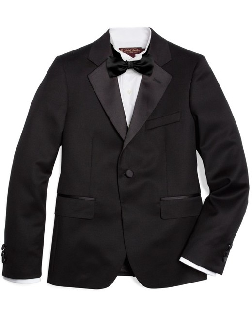 One-Button Tuxedo Junior Jacket