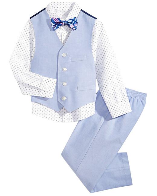 Nautica Diamond Oxford Vest Set
