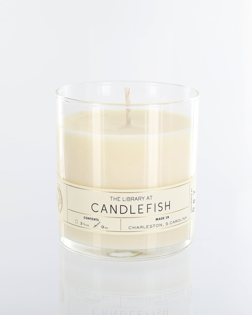 under 50 gifts candlefish white candle