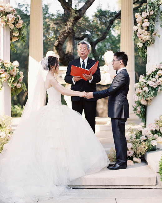 yiran yexiang wedding ceremony bride groom vows
