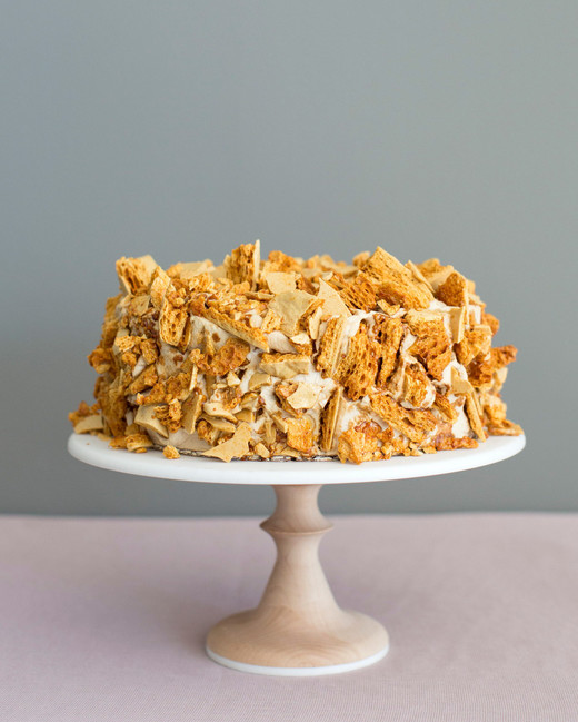 brittle wedding cake