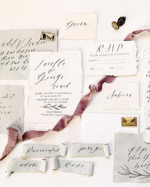 europe style romantic wedding invitations