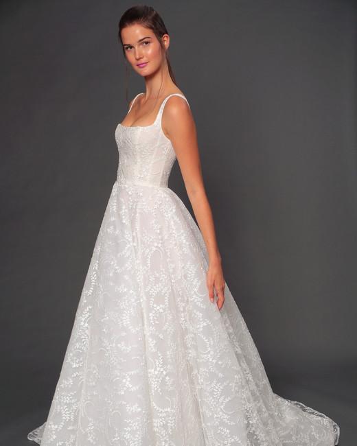 isabelle armstrong fall 2019 corset ball gown wedding dress