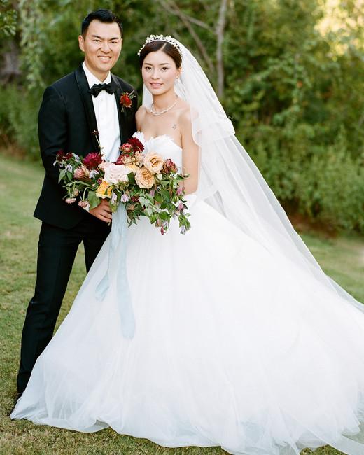 ivana nevin wedding bride and groom