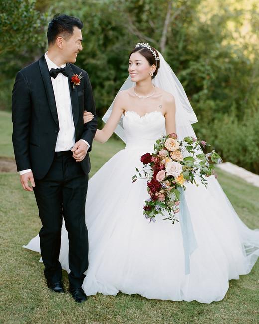 ivana nevin wedding candid couple