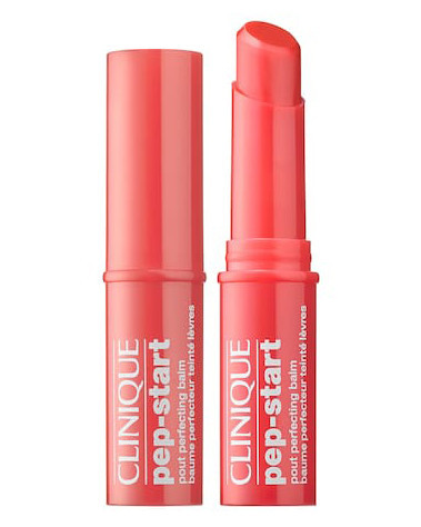 "Clinique ""Pep-Start Pout Perfecting"" Balm in ""Tangerine"""