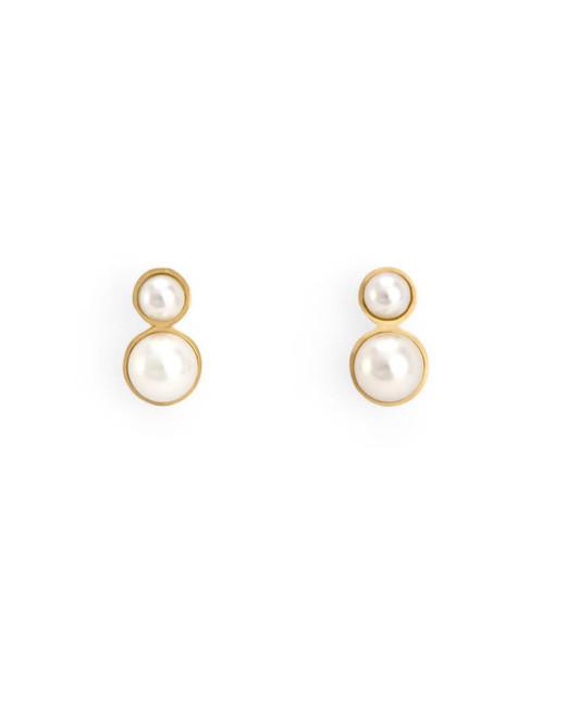 pearl wedding earrings satomi kawakita
