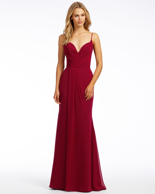 red bridesmaid dress hayley paige