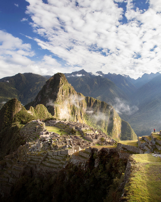 romantic destination machu picchu peru