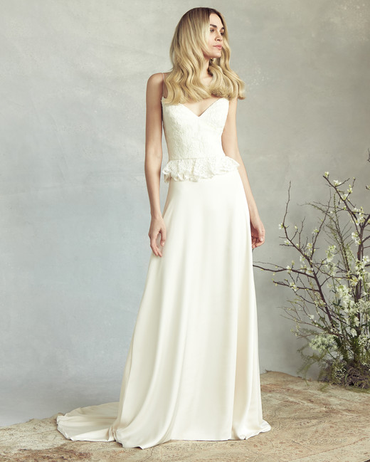savannah miller embellished bodice a-line wedding dress spring 2020