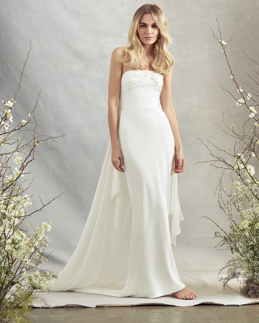savannah miller strapless mermaid wedding dress spring 2020