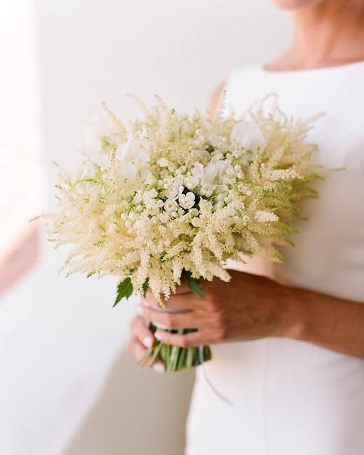 ashlie adam alpert wedding bride bouquet