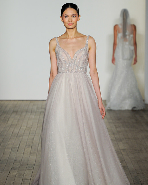 blush by hayley paige fall 2019 a-line glitter wedding dress