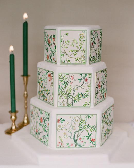 diana alex wedding cake chinoiserie