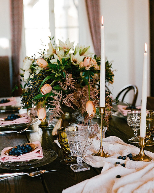 europe style romantic tabletop decor